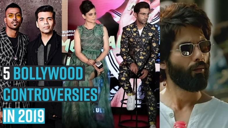 Top 5 Bollywood controversies of 2019