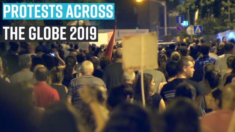 Protest wave that swayed the world in 2019