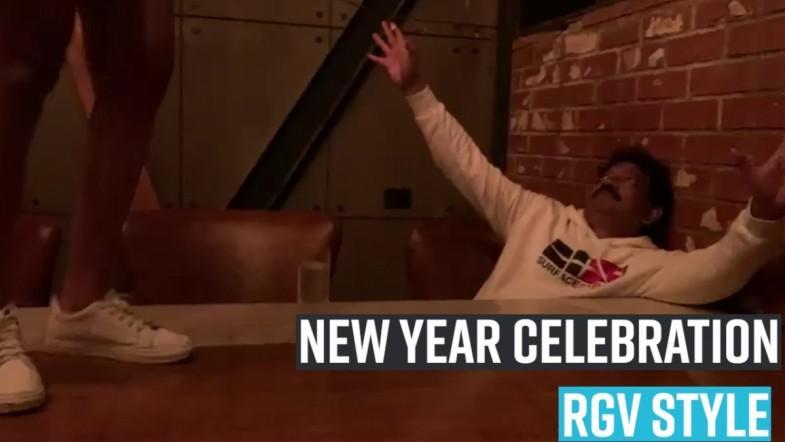 RGV style celebration new year
