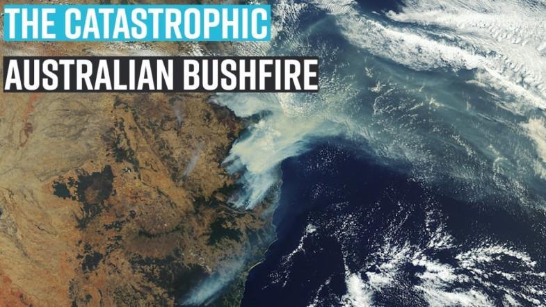 The catastrophic Australian bushfire