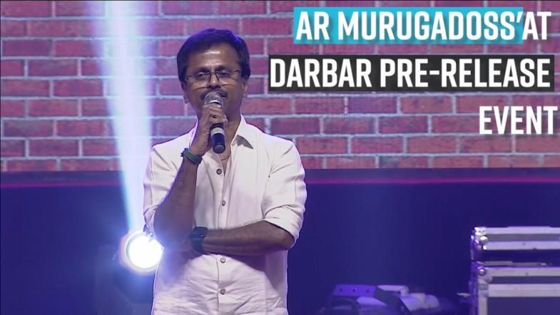 AR Murugadoss speech at Darbar pre-release event in Hyderabad