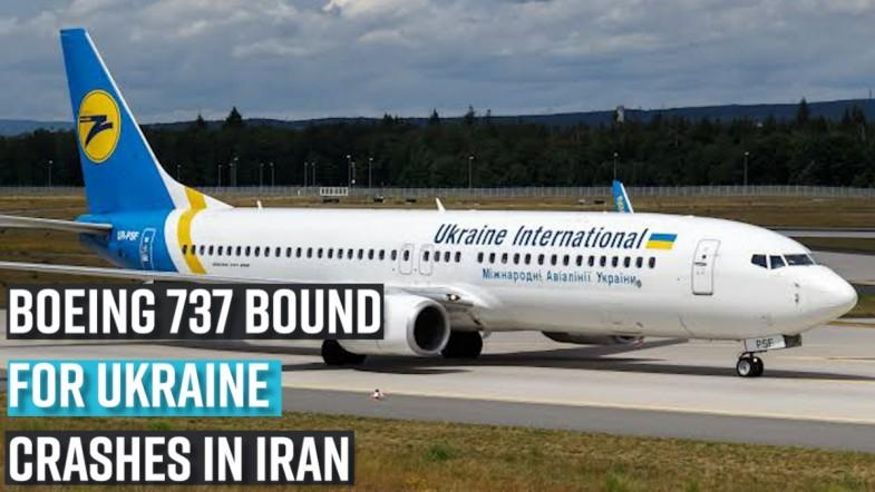 Boeing 737 bound for Ukraine crashes in Iran