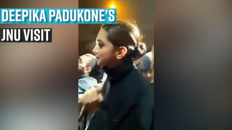 Deepika Padukones JNU visit