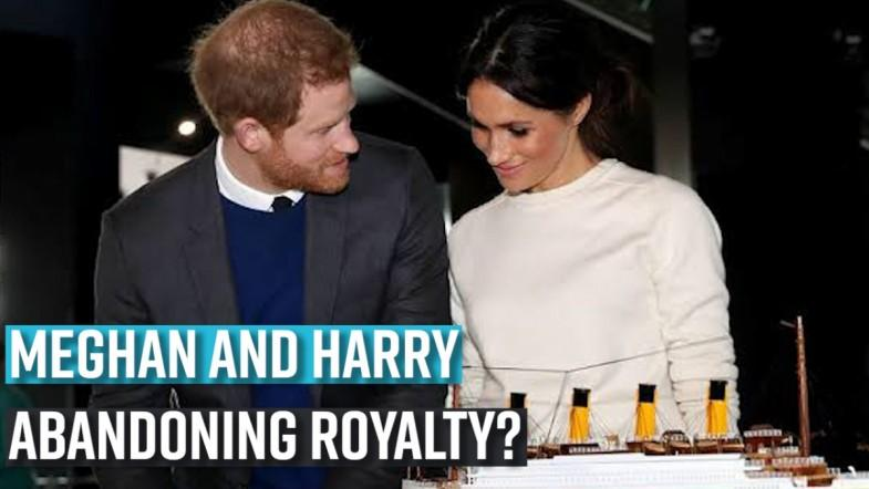 Reasons that caused Prince Harry and Meghan Markle to step down as Royals
