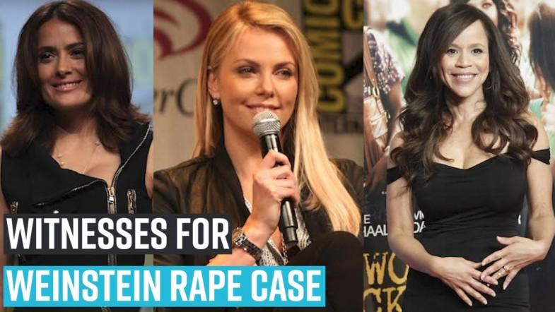 Charlize Theron, Salma Hayek, Rosie Perez may be called as witnesses for Weinstein rape case