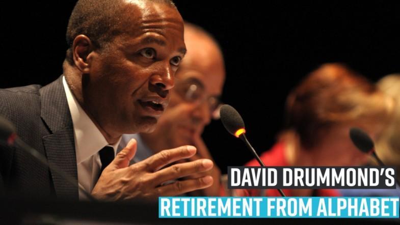 David Drummonds retirement from Alphabet