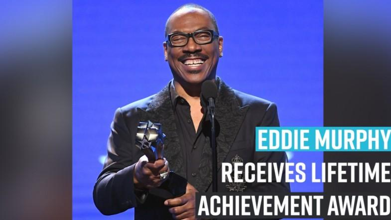 Eddie Murphy Receives Lifetime Achievement Award at the 2020 Critics' Choice Awards