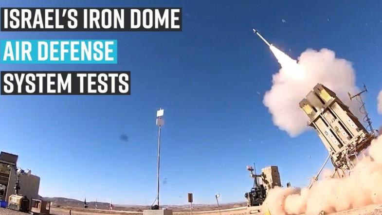Israels Iron Dome Air Defense system tests