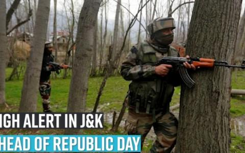 High alert in J&K ahead of Republic Day