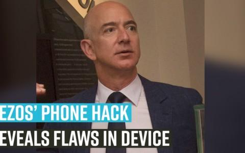 Bezos' phone hack reveals flaws in device