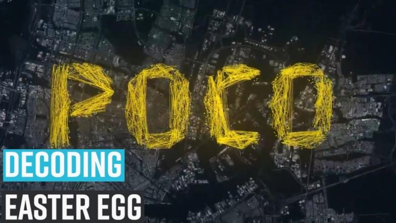 Decoding POCO easter egg