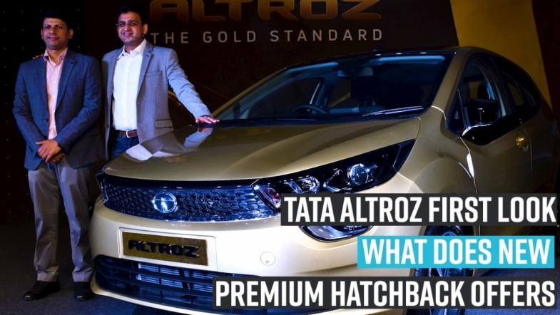 Tata Altroz first look: what does new premium hatchback offers