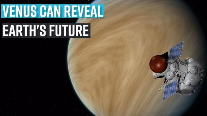Venus can reveal Earths future