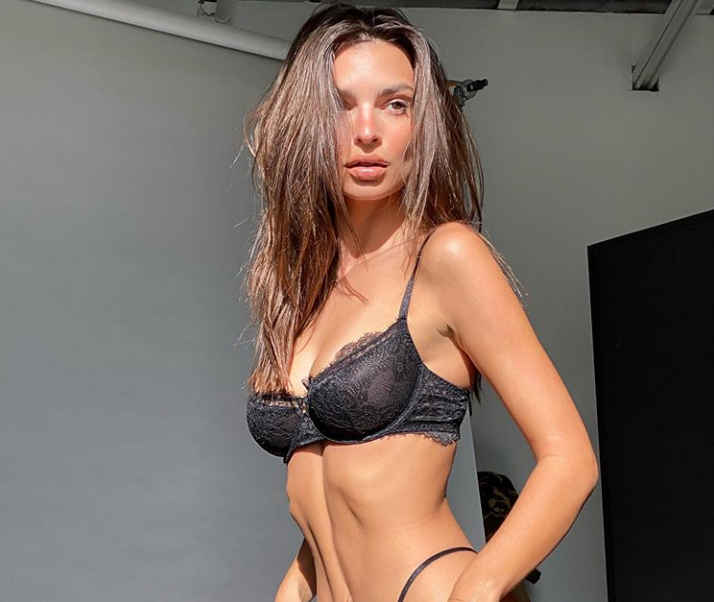 Emily Ratajkowski gets naughty in lingerie in sizzling new video [Watch]