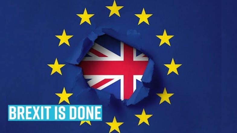Brexit is done