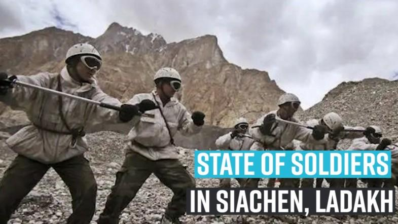 CAG report on soldiers in Siachen, Ladakh