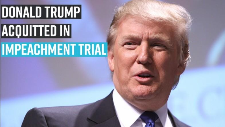 Donald Trump acquitted in impeachment trial