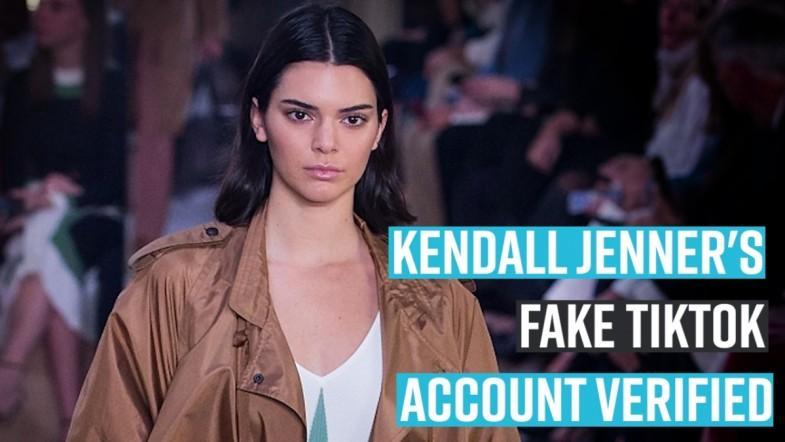 Kendall Jenners Fake TikTok account verified