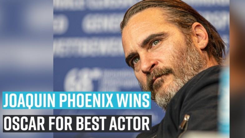 Joaquin Phoenix wins OSCAR for best actor