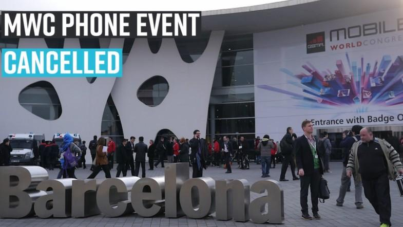 MWC phone event cancelled