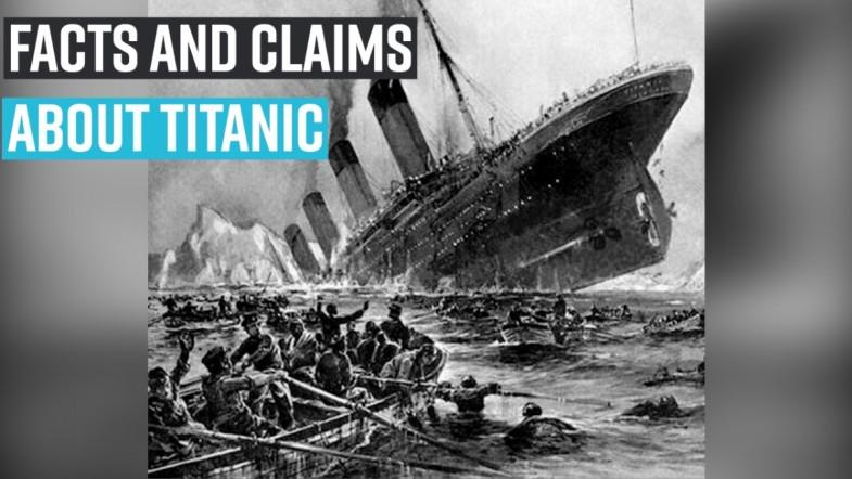Facts and Claims about Titanic