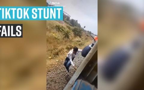 Tiktok stunt fails