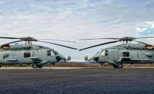 MH-60 'Romeo' Seahawk helicopters