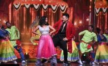 Neha Kakkar and Aditya Narayan on Indian Idol 11 grand finale