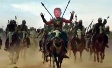 Donald Trump in Prabhas' Baahubali 2 avatar
