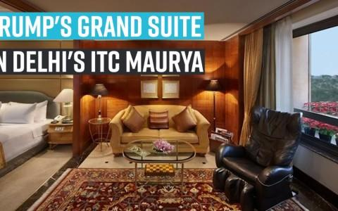 A look at Trump's GRAND suite in Delhi's ITC Maurya