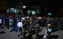 印度抗议者抗议