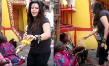 Ekta Kapoor trolled for throwing bananas at beggars