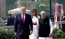 Trump visit