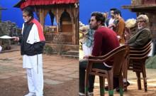 Big B shares BTS photos from the set, praises Ranbir Kapoor