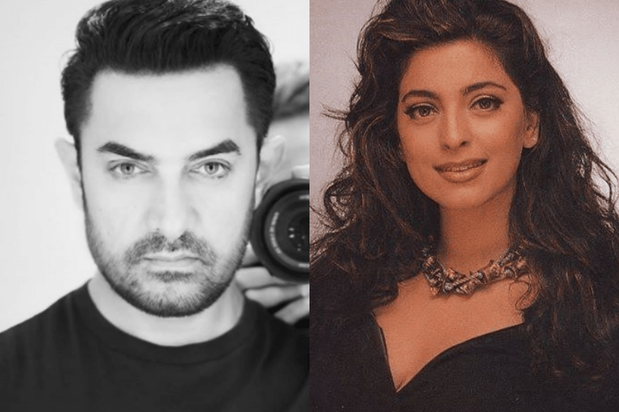 We Didn T Talk For 7 Years Aamir Khan On His Fallout With Juhi Chawla Throwback Ibtimes India