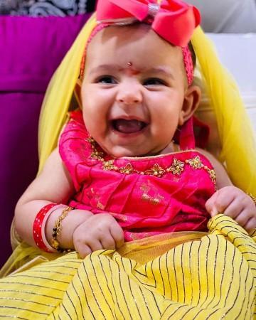 Kapil Sharma's daughter
