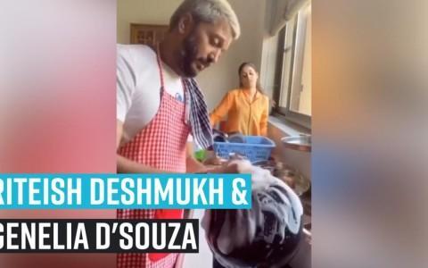 Riteish Deshmukh and wifey Genelia Deshmukh wish Ajay Devgn in the most humorous way