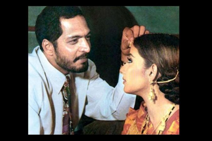 Manisha Koirala and Nana Patekar