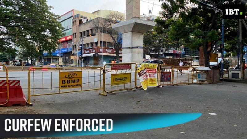 Curfew enforced