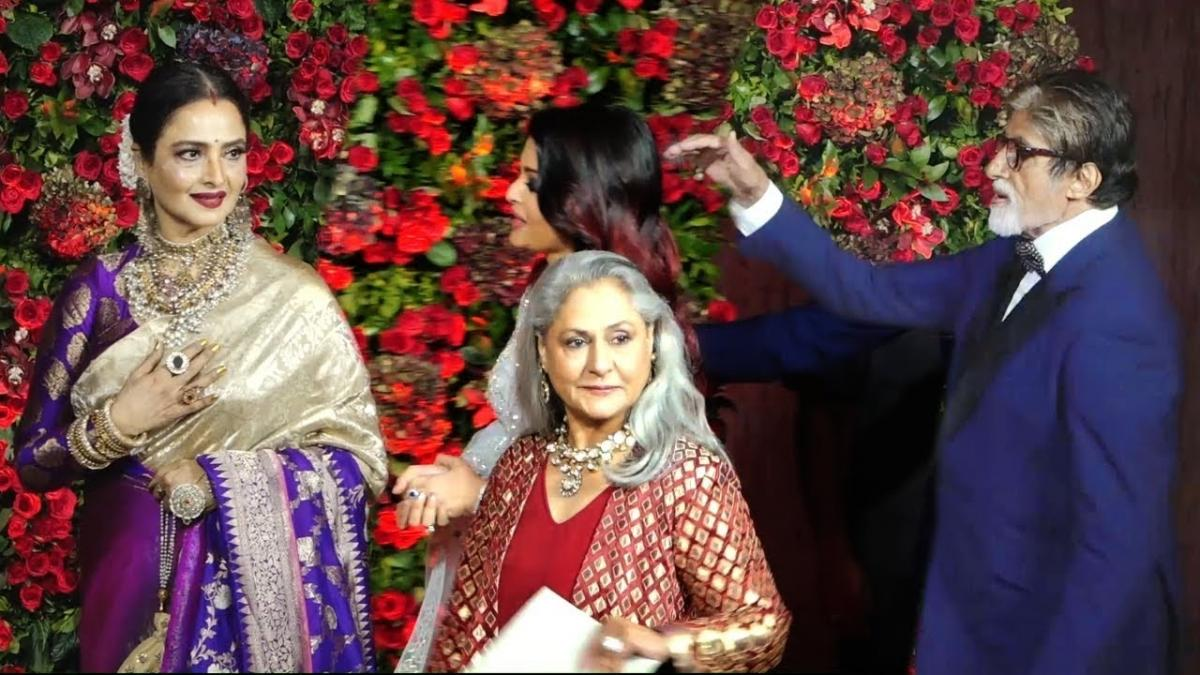 Did you know Rekha praised Jaya Bachchan for being dignified, called her  'didi' [Throwback video] - IBTimes India