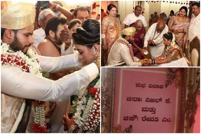 Nikhil Kumaraswamy's Wedding with Revathi