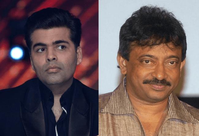 Karan Johar and Ram Gopal Varma