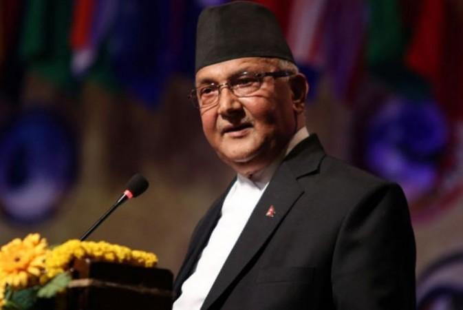 KP Sharma Oli.