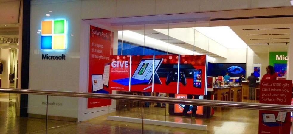Microsoft Stores cierra