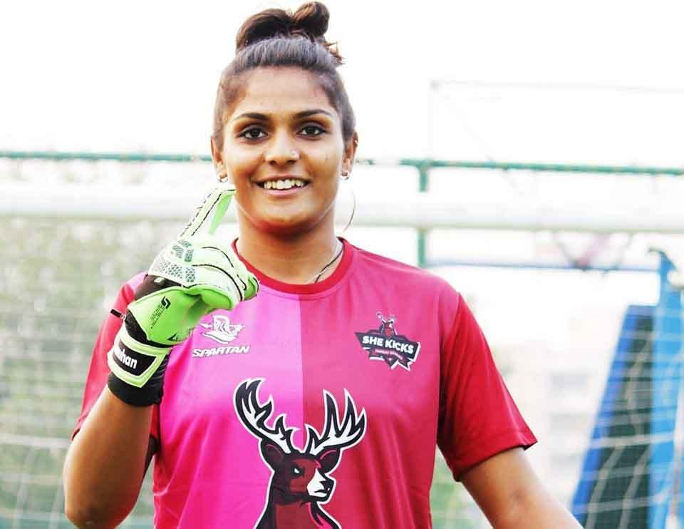 Il portiere indiano Aditi parla della diversità nella squadra di calcio femminile indiana