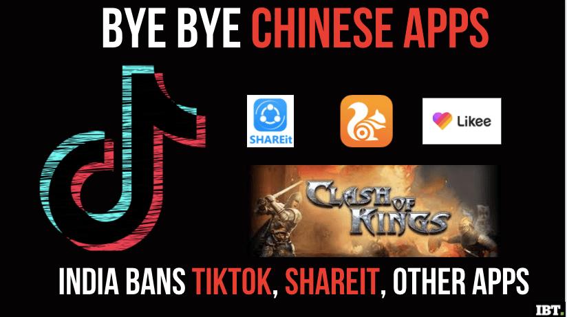 Le migliori alternative a TikTok, CamScanner, Shareit e altre app cinesi vietate in India