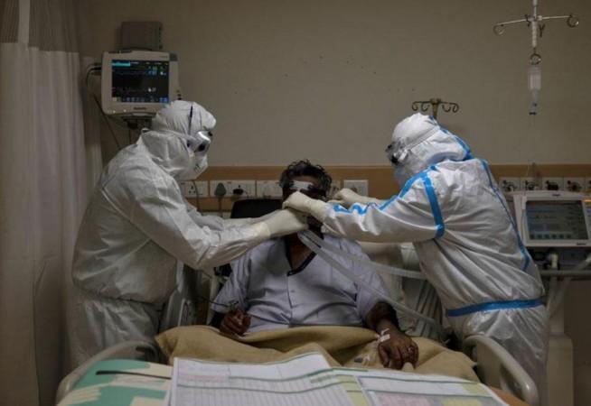 Coronavirus hastası hastanede