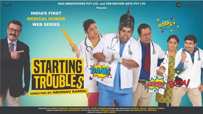 Dr Jagdish Chaturvedi in Starting Troubles