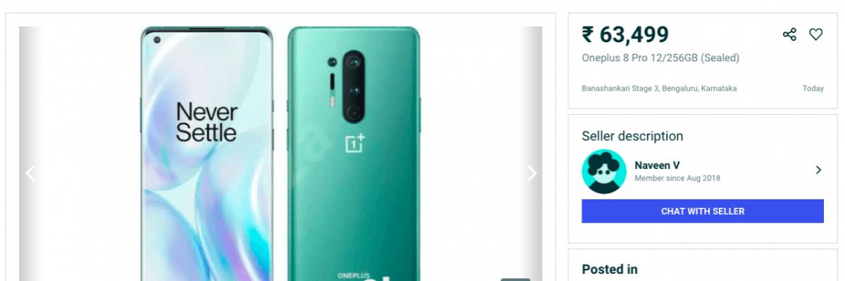 OnePlus 8 Pro en OLX