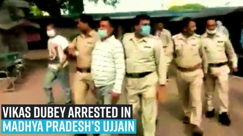 Kanpur encounter case: Vikas Dubey arrested in Madhya Pradesh's Ujjain